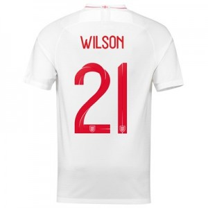 England Home Stadium Shirt 2018 with Wilson 21 printing