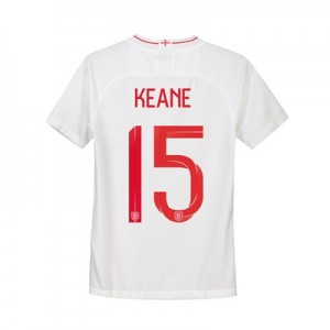 England Home Stadium Shirt 2018 - Kids with Keane 15 printing