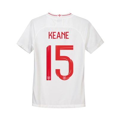 England Home Stadium Shirt 2018 - Kids with Keane 15 printing