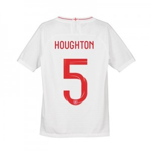 England Home Vapor Match Shirt 2018 - Kids with Houghton 5 printing