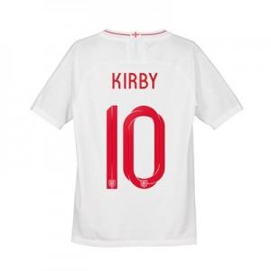 England Home Vapor Match Shirt 2018 - Kids with Kirby 10 printing