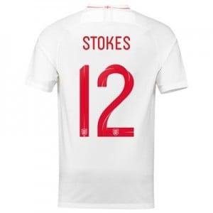 England Home Stadium Shirt 2018 with Stokes 12 printing