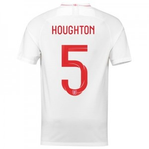 England Home Stadium Shirt 2018 with Houghton 5 printing