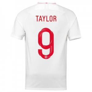 England Home Stadium Shirt 2018 with Taylor 9 printing