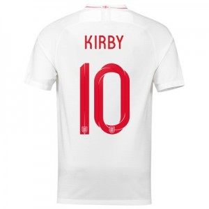 England Home Stadium Shirt 2018 with Kirby 10 printing