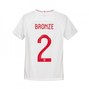 England Home Stadium Shirt 2018 - Kids with Bronze 2 printing