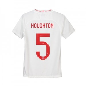 England Home Stadium Shirt 2018 - Kids with Houghton 5 printing