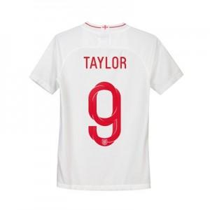 England Home Stadium Shirt 2018 - Kids with Taylor 9 printing