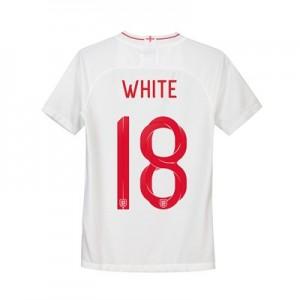 England Home Stadium Shirt 2018 - Kids with White 18 printing
