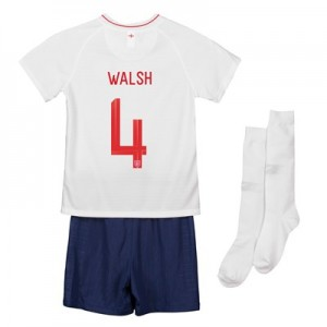 England Home Stadium Kit 2018 - Infants with Walsh 4 printing