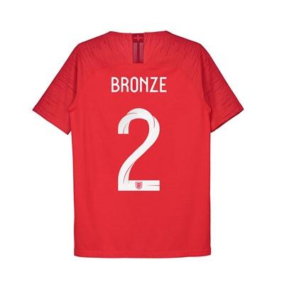 England Away Vapor Match Shirt 2018 - Kids with Bronze 2 printing