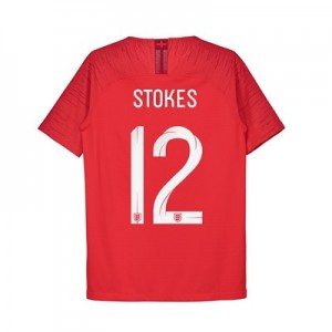 England Away Vapor Match Shirt 2018 - Kids with Stokes 12 printing