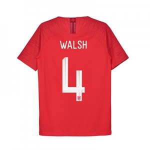 England Away Vapor Match Shirt 2018 - Kids with Walsh 4 printing