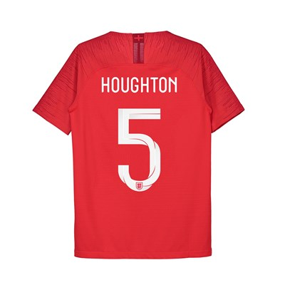 England Away Vapor Match Shirt 2018 - Kids with Houghton 5 printing