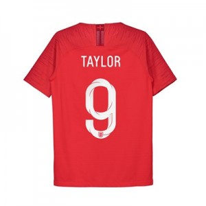 England Away Vapor Match Shirt 2018 - Kids with Taylor 9 printing