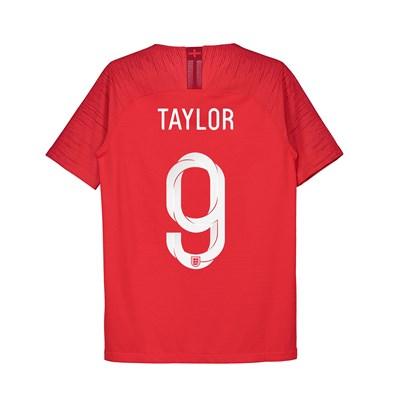 England Away Vapor Match Shirt 2018 - Kids with Taylor 9 printing
