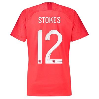 England Away Stadium Shirt 2018 - Womens with Stokes 12 printing