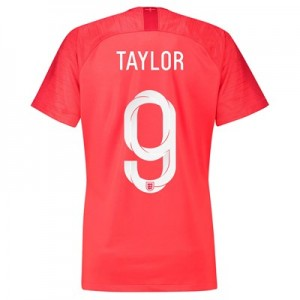 England Away Stadium Shirt 2018 - Womens with Taylor 9 printing