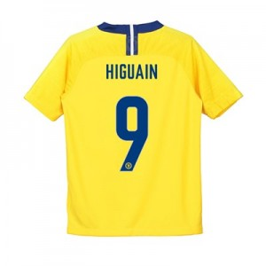 Chelsea Away Cup Stadium Shirt 2018-19 - Kids with Higuain 9 printing