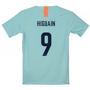 Chelsea Third Cup Stadium Shirt 2018-19 - Kids with Higuain 9 printing