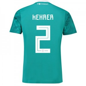 Germany Away Shirt 2018 with Kehrer 2 printing