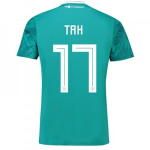 Germany Away Shirt 2018 with Tah 5 printing