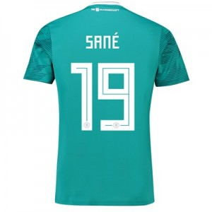 Germany Away Shirt 2018 with Sané 19 printing