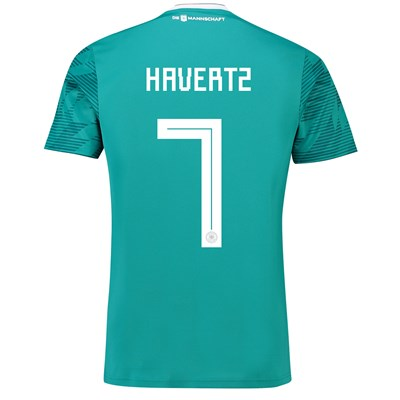 Germany Away Shirt 2018 with Havertz 7 printing
