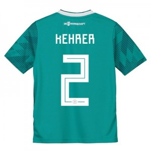 Germany Away Shirt 2018 - Kids with Kehrer 2 printing
