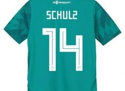 Germany Away Shirt 2018 - Kids with Schulz 14 printing