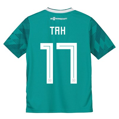 Germany Away Shirt 2018 - Kids with Tah 5 printing