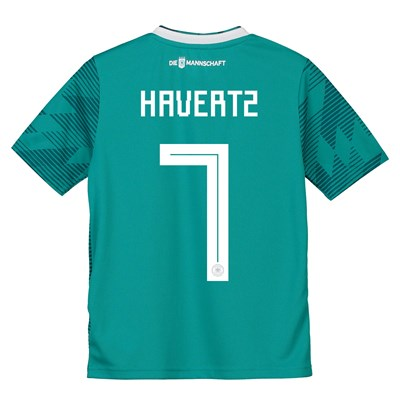 Germany Away Shirt 2018 - Kids with Havertz 7 printing
