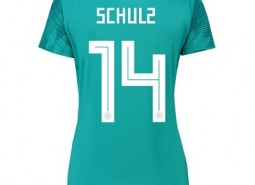 Germany Away Shirt 2018 - Womens with Schulz 14 printing