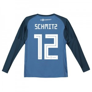 Germany Home Goalkeeper Shirt 2018 - Kids with Schmitz 12 printing