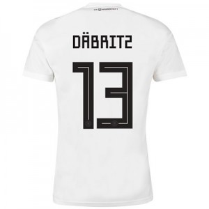 Germany Home Shirt 2018 with Däbritz 13 printing