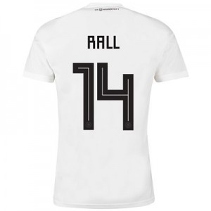 Germany Home Shirt 2018 with Rall 14 printing