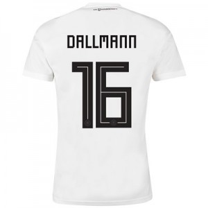 Germany Home Shirt 2018 with Dallmann 16 printing