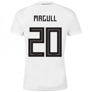 Germany Home Shirt 2018 with Magull 20 printing