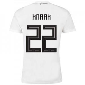 Germany Home Shirt 2018 with Knaak 22 printing