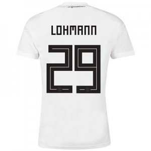 Germany Home Shirt 2018 with Lohmann 29 printing