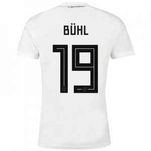Germany Home Shirt 2018 with Bühl 19 printing