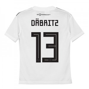 Germany Home Shirt 2018 - Kids with Däbritz 13 printing