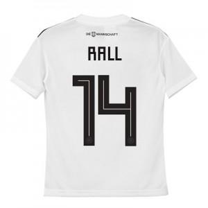 Germany Home Shirt 2018 - Kids with Rall 14 printing