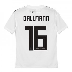 Germany Home Shirt 2018 - Kids with Dallmann 16 printing