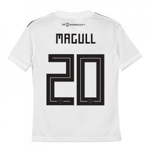 Germany Home Shirt 2018 - Kids with Magull 20 printing