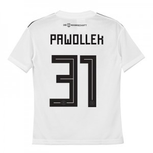 Germany Home Shirt 2018 - Kids with Pawollek 31 printing