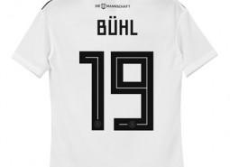 Germany Home Shirt 2018 - Kids with Bühl 19 printing