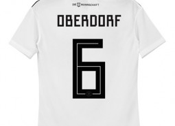 Germany Home Shirt 2018 - Kids with Oberdorf 6 printing