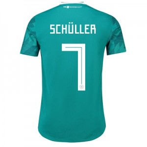 Germany Authentic Away Shirt 2018 with Schüller 7 printing