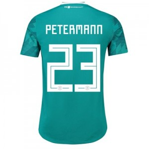 Germany Authentic Away Shirt 2018 with Petermann 23 printing